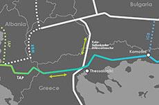 Gazprom can use Trans-Adriatic pipeline