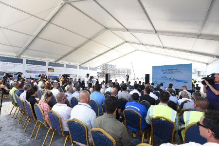 TAP marks the installation of the turbo compressors in Albania