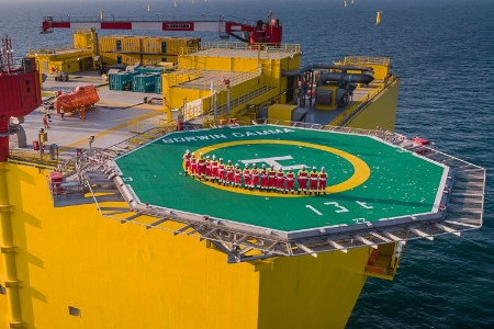 BorWin3 offshore wind grid connection begins to transmit power