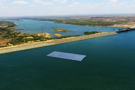 New floating PV plant on Sobradinho Hydroelectric Dam