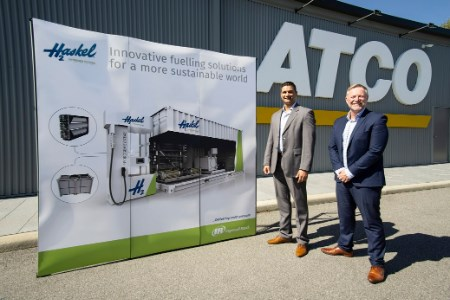 Haskel Hydrogen Systems teams up with ATCO to support hydrogen