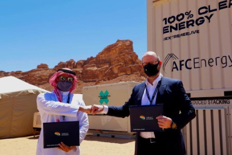 Altaaqa and AFC Energy sign hydrogen MoU