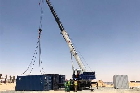 Azelio's energy storage technology arrives at MBR solar park